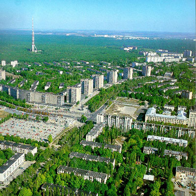 Pavlovo Pole is one of the most green Kharkov districts