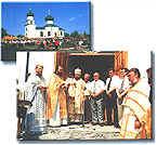 Открытие нового Свято-Преображенского храма в Печенегах